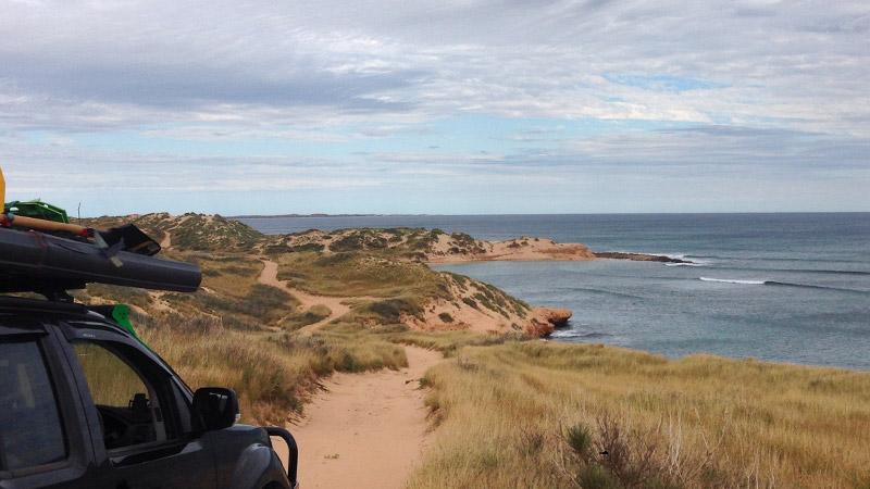 Looking towards the Lagoon north of Coral Bay - No fishing - Bateman Sanctuary