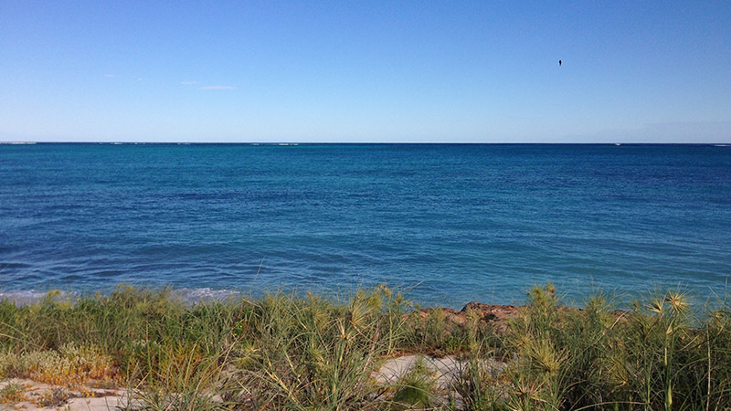The clear waters of Coral Bay have some of the best Spangled Emperor fishing in Australia