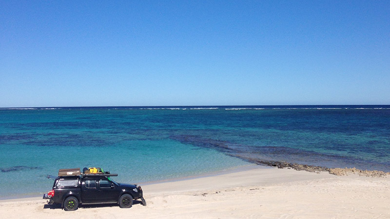 Coral Bay fishing spot - Five Finger Reef of is a popular fishing spot, 4wd is required.