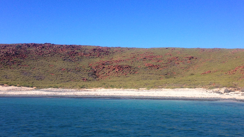 The beautiful contrasts of the Dampier Archipelago