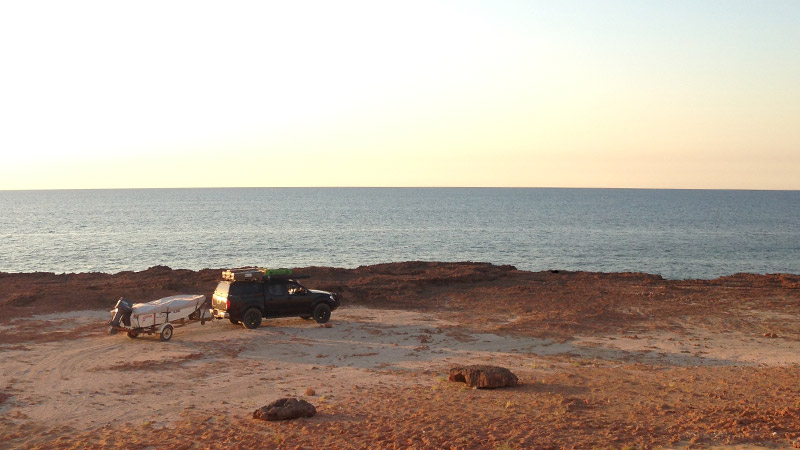 Camping at the Cape near Port Smith - Permission required